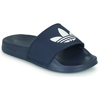 Schoenen Kinderen Slippers adidas Originals ADILETTE LITE J Marine / Wit