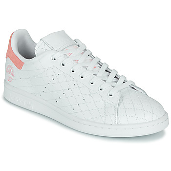 Schoenen Lage sneakers adidas Originals STAN SMITH W Wit / Roze