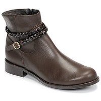 Schoenen Dames Laarzen So Size OSCARDO Brown