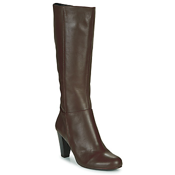 Schoenen Dames Hoge laarzen So Size ARDEIN Brown
