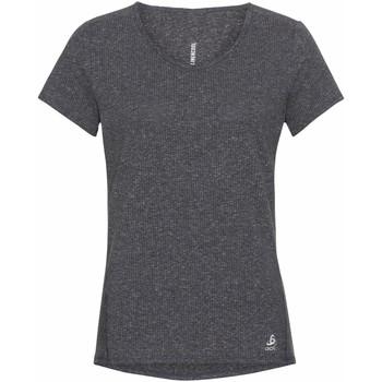 Textiel Dames T-shirts korte mouwen Odlo T-shirt femme  Lou Linencool gris