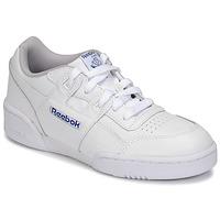 Schoenen Kinderen Lage sneakers Reebok Classic WORKOUT PLUS Wit