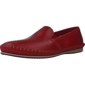 Schoenen Heren Mocassins Fluchos 8592F Rood