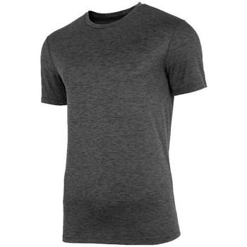 Textiel Heren T-shirts korte mouwen 4F TSMF003 Graphite