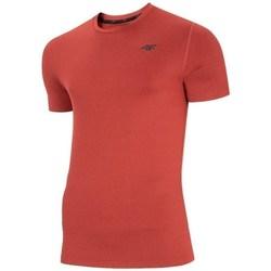 Textiel Heren T-shirts korte mouwen 4F TSMF003 Rouge