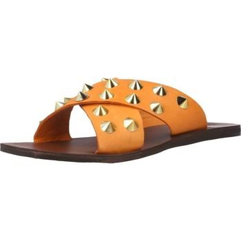 Schoenen Dames Leren slippers Inuovo 478003I Oranje
