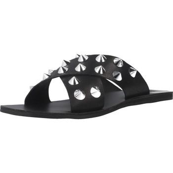 Schoenen Dames Leren slippers Inuovo 478003I Zwart