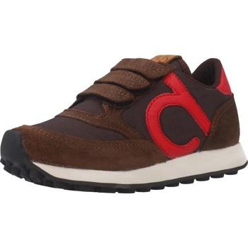 Schoenen Jongens Lage sneakers Duuo D400026 Bruin