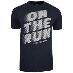 Textiel Heren T-shirts korte mouwen Monotox ON The Run Noir