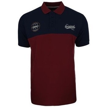 Textiel Heren Polo's korte mouwen Monotox Polo Originals Noir, Bordeaux