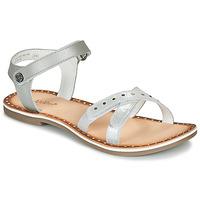 Schoenen Meisjes Sandalen / Open schoenen Kickers DIDONC Zilver