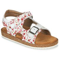 Schoenen Meisjes Sandalen / Open schoenen Kickers FUNKYO Wit