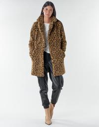 Textiel Dames Mantel jassen Noisy May NMGABI Brown