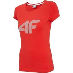 Textiel Dames T-shirts korte mouwen 4F TSD005 Rouge