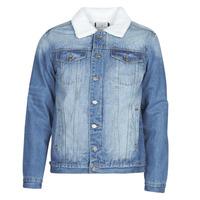 Textiel Heren Spijker jassen Casual Attitude NOARO Blauw / Medium