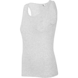 Textiel Dames Mouwloze tops 4F TSD003 Gris