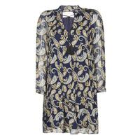 Textiel Dames Korte jurken Moony Mood LONI Marine / Multicolour
