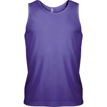Textiel Heren Mouwloze tops Proact Débardeur  Sport violet