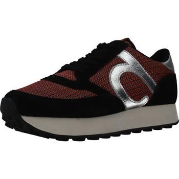 Schoenen Dames Sneakers Duuo PRISA HIGH 05 MP Zwart
