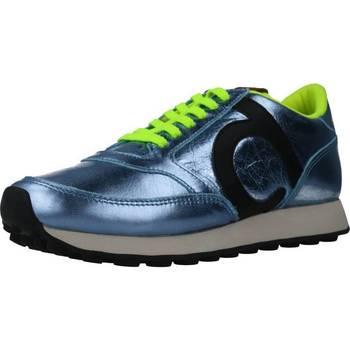 Schoenen Dames Sneakers Duuo PRISA KID LACE 033 Blauw