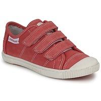 Schoenen Kinderen Lage sneakers Pataugas BISTRO Rood