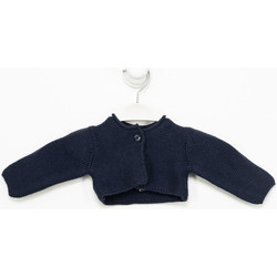 Textiel Meisjes Vesten / Cardigans Tutto Piccolo Veste  M / Long Blauw