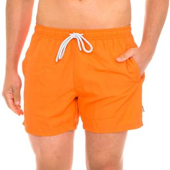 Textiel Heren Zwembroeken/ Zwemshorts John Frank Maillot de bain Orange