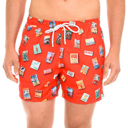 Textiel Heren Zwembroeken/ Zwemshorts John Frank Maillot de bain Rood