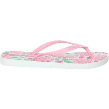 Schoenen Dames Slippers Ipanema 82655 Rose/White