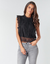 Textiel Dames Tops / Blousjes Only ONLKARO Zwart