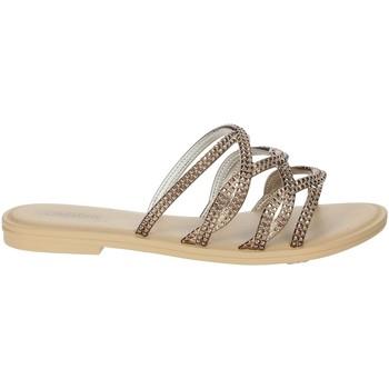 Schoenen Dames Leren slippers Grendha 17629 Bronze