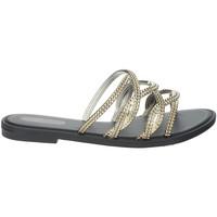 Schoenen Dames Leren slippers Grendha 17629 Black