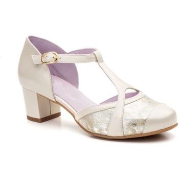 Schoenen Dames pumps Gavi's Shoes Para Ella Zapatos de tacón bajo de piel by Gavis Doré