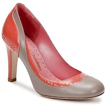 Schoenen Dames pumps Sarah Chofakian LAUTREC Klei / Zalm