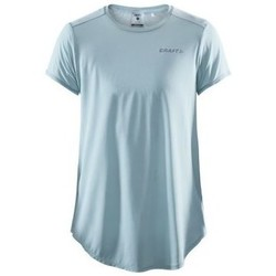 Textiel Dames T-shirts korte mouwen Craft Charge Tee Bleu