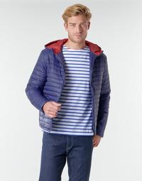 Textiel Heren Dons gevoerde jassen Casual Attitude NEFFLE Marine