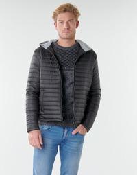Textiel Heren Dons gevoerde jassen Casual Attitude NEFFLE Zwart