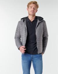 Textiel Heren Dons gevoerde jassen Casual Attitude NEFFLE Grijs