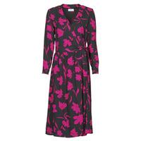 Textiel Dames Lange jurken Betty London NOLIE Zwart / Roze