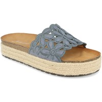 Schoenen Dames Leren slippers Festissimo YT5551 Azul