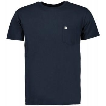 Textiel Heren T-shirts korte mouwen Scout M/m  T-shirt (10584-blauw) Blauw