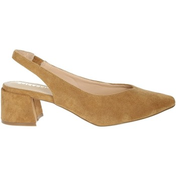 Schoenen Dames pumps Gold & Gold GD183 Brown leather