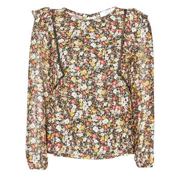 Textiel Dames Tops / Blousjes Betty London NELIA Zwart / Multicolour