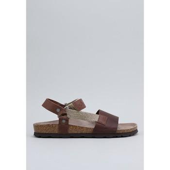 Schoenen Heren Sandalen / Open schoenen Senses & Shoes TEIDE Brown