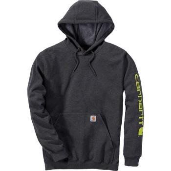 Textiel Sweaters / Sweatshirts Carhartt Sweatshirt à capuche  Logo gris carbone
