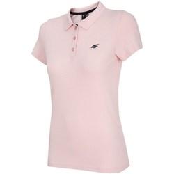 Textiel Dames Polo's korte mouwen 4F TSD007 Rose