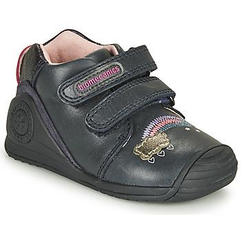 Schoenen Meisjes Lage sneakers Biomecanics BOTIN TWIN Marine