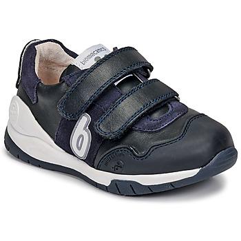 Schoenen Kinderen Lage sneakers Biomecanics DEPORTIVO BASICO Marine