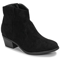 Schoenen Dames Laarzen Moony Mood NINITE Zwart