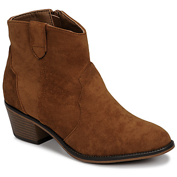 Schoenen Dames Laarzen Moony Mood NINITE  camel